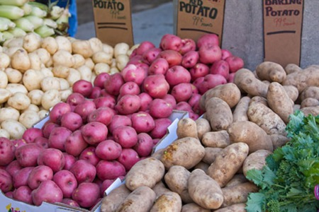 The History of Potatoes in Idaho