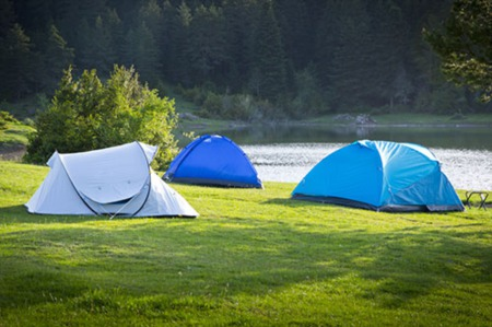 Scenic Summer Campgrounds in Ririe, Idaho