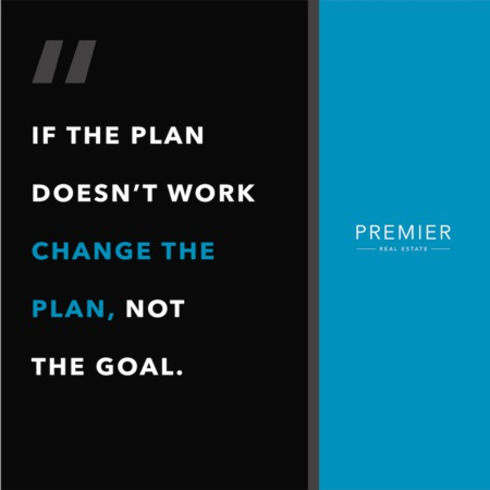 Weekly Inspiration: Change your plan