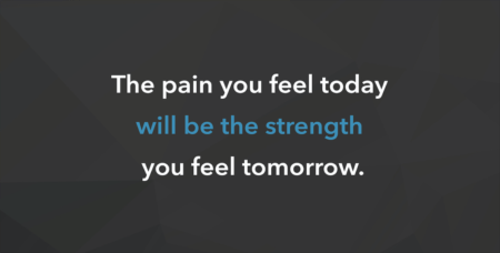 Weekly Inspiration: The pain you feel today...