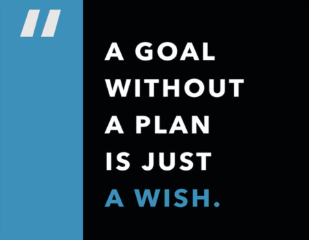 Weekly Inspiration: A goal without a plan...