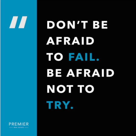 Weekly Inspiration: Don't Be Afraid To Fail
