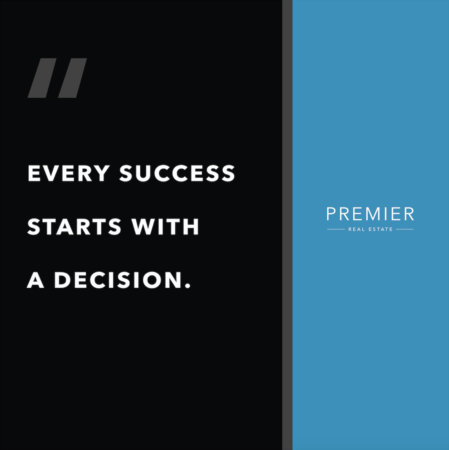 Weekly Inspiration: It all starts with a decision!