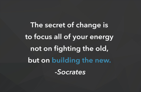 Weekly Inspiration: Building the NEW