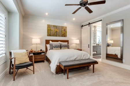 Home Feature: Incredible Master Bedroom & Bathroom Suite Remodel
