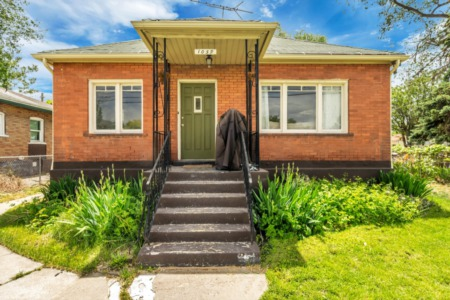 OPEN THIS WEEKEND! Stop by this adorable SLC bungalow on Saturday!