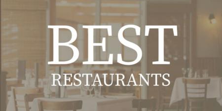 Best Restaurants in Charleston, SC