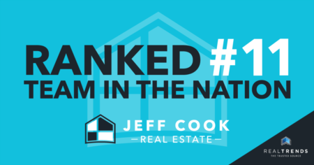 Jeff Cook Real Estate Named #11 Real Estate Team in the Nation By REAL Trends
