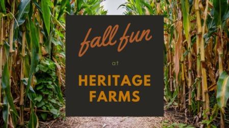 Fall Fun At Heritage Farms