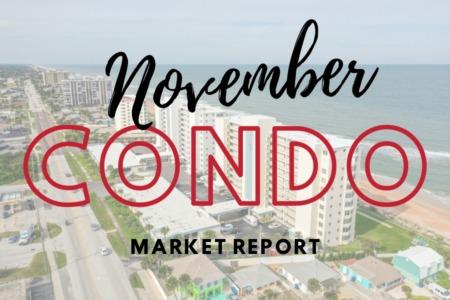 Daytona Beach Condo Sales - November 2020