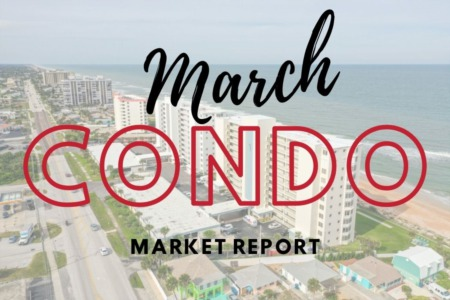Daytona Beach Condo Sales - March 2021