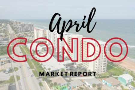 Daytona Beach Condo Sales  - April 2021