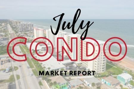 Daytona Beach Condo Sales - July 2021