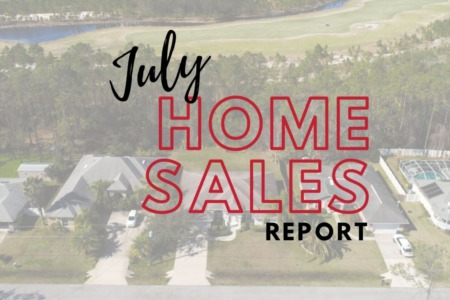Daytona Beach Home Sales - July 2021