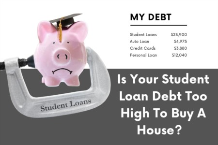 Is Your Debt Too High To Buy A House?