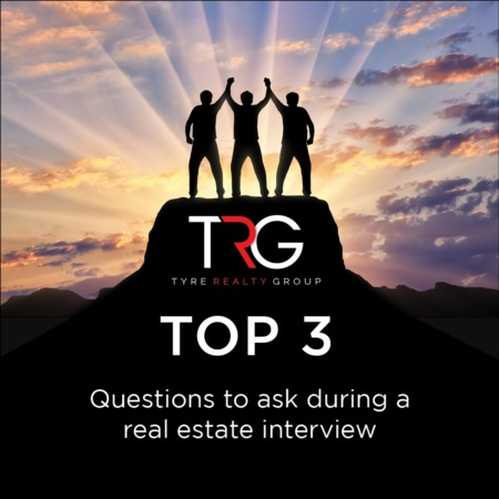 TRG Top 3 - Questions to ask during a real estate interview