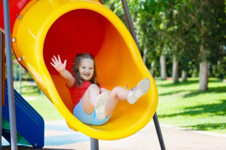 Have Fun near Harbor Point, Carolina Beach Real Estate at Mike Chappell Park