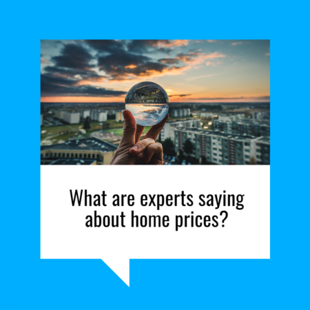 What Are Experts Saying about Home Prices?