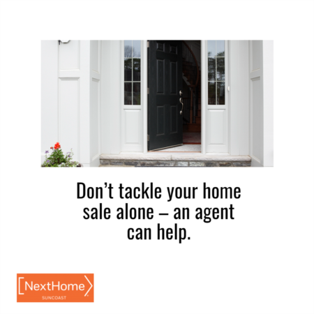 Don't Tackle Selling Your Home on Your Own – an Agent Can Help