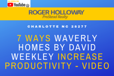 7 Ways Waverly Homes by David Weekley Increase Productivity - Video