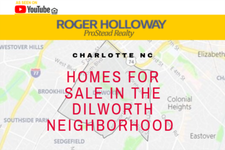 Charlotte NC Homes For Sale Dilworth Neighborhood - Video