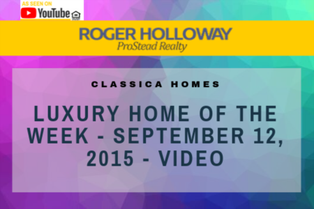 Luxury Home Of The Week - September 12, 2015 - Video