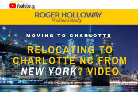 Relocating to Charlotte NC from New York?  Video