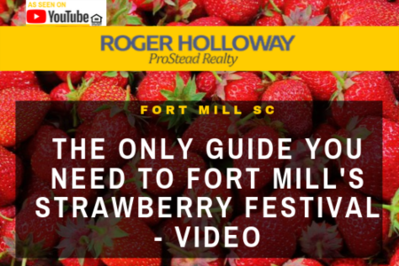 The Only Guide You Need to Fort Mill's Strawberry Festival - Video