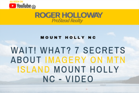 Wait! What? 7 Secrets About Imagery On Mtn Island Mount Holly NC - Video