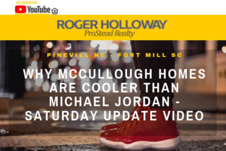 Why McCullough Homes are Cooler than Michael Jordan - Saturday Update Video