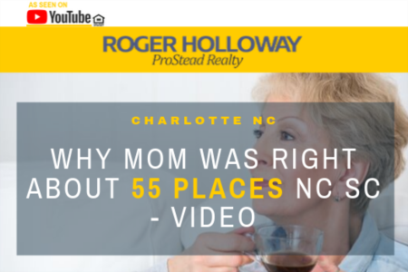 Why Mom Was Right About 55 Places NC SC - Video