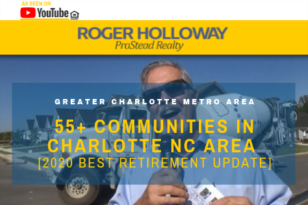 55+ Communities in the Charlotte NC Area - Video