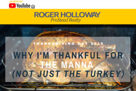 Why I'm Thankful For The Manna (Not Just The Turkey)