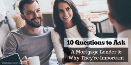 10 things to Ask Your Lender
