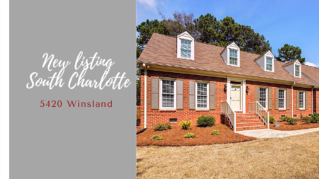 Another great South Charlotte home for Sale - 5420 Winsland in Berekley
