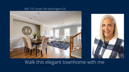 Virtual Open House Tour | 605 7th St SW DC