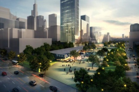 A Proposed West Loop Park Over The Expressway?