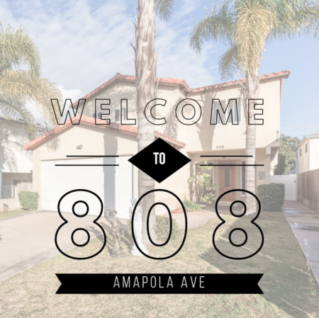 Welcome to 808 Amapola Ave