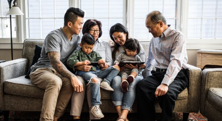 More Generations are Living Under One Roof