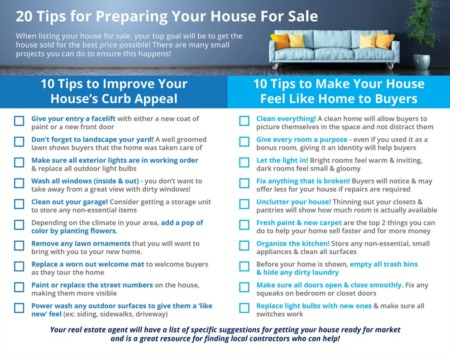 20 Tips for Preparing Your House for Sale This Fall