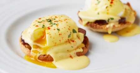 The Perfect Plate with Chef E: Eggs Benedict with Blender Hollandaise Sauce