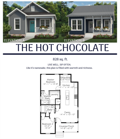 New Chatham Park Floor Plan - The Hot Chocolate