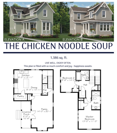 New Chatham Park Floor Plan - The Chicken Soup