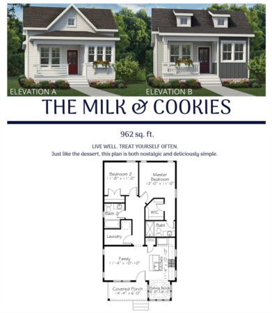 New Chatham Park Floor Plan - The Milk & Cookies