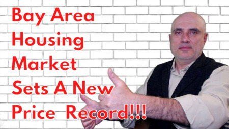 Bay Area Housing Market Sets a New Price Record!!! [April 2021]