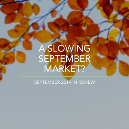 A Slowing September Market?