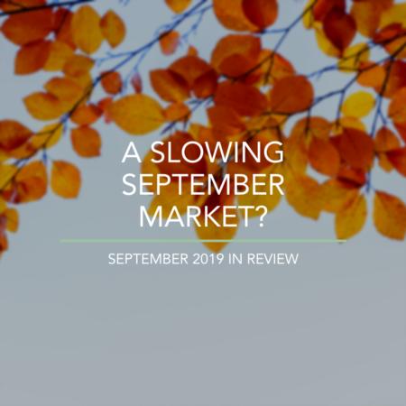 A Slowing September Market?