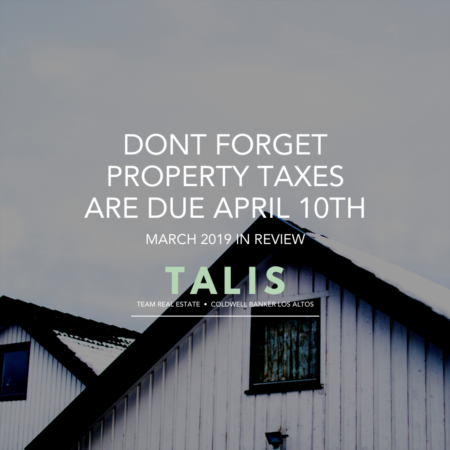 Don't Forget! Property Taxes Are Due April 10th!