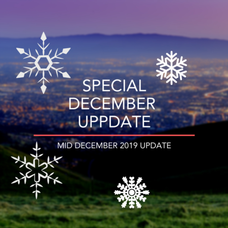 A Special Holiday Update