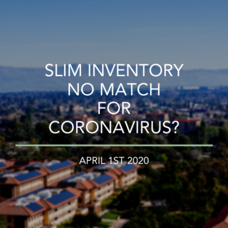 Bay Area Real Estate: Slim Inventory No Match For Coronavirus?